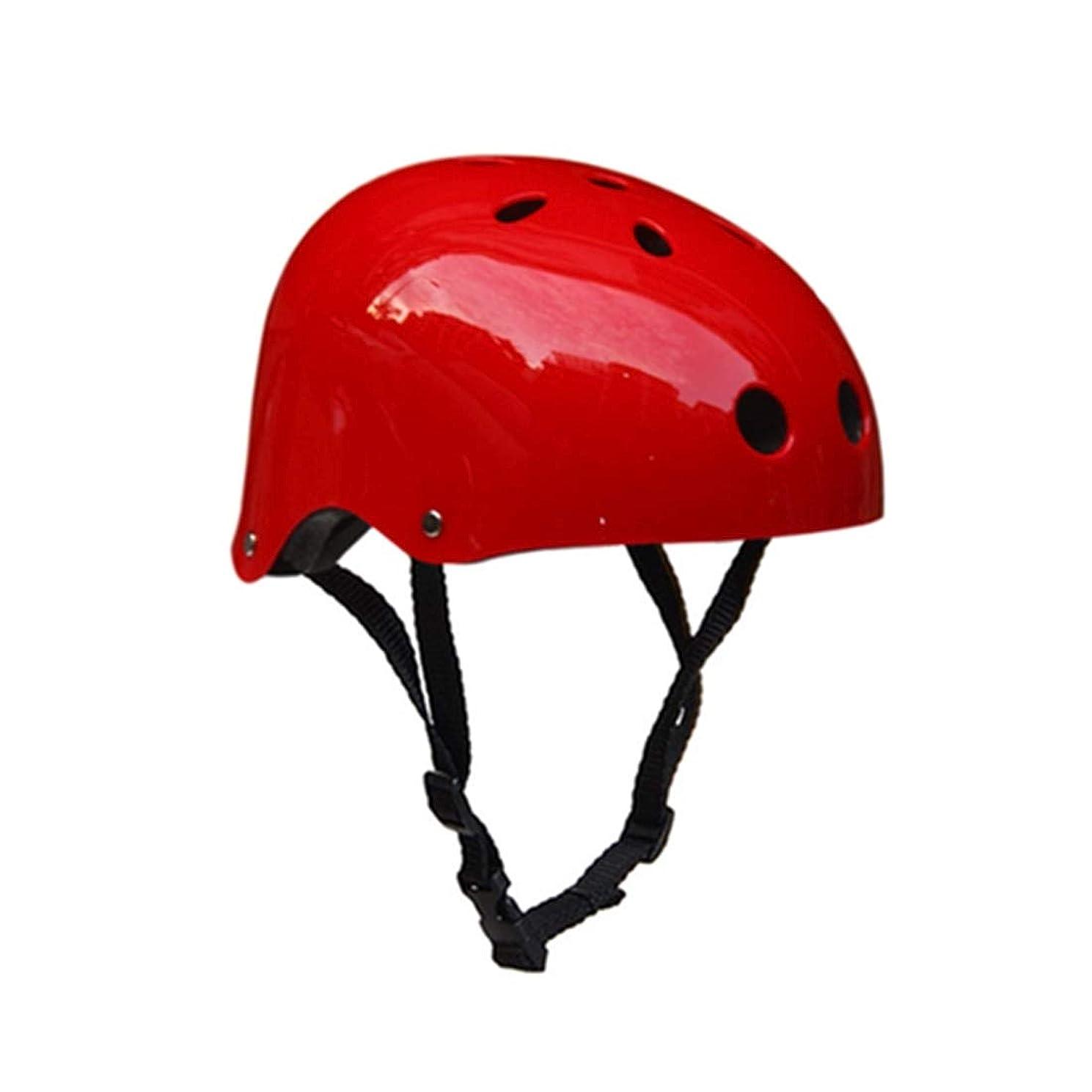 紛争ジャグリング愛情深いWTYDアウトドアツール 登山用具安全ヘルメット洞窟レスキュー子供大人用ヘルメット開発アウトドアハイキングスキー用品適切な頭囲:50-54cm、サイズ:S 自転車の部品