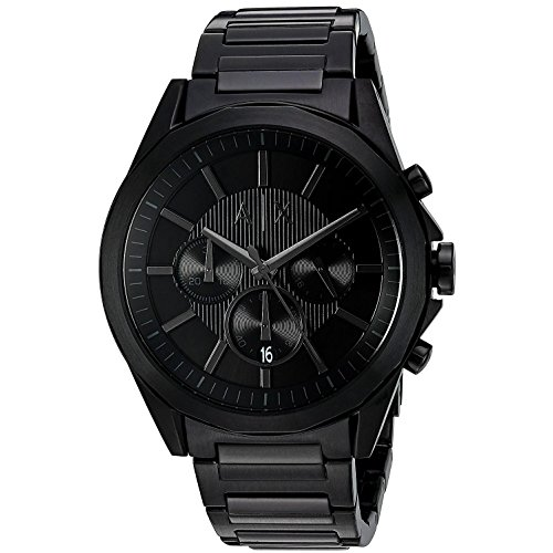 Armani Exchange Herren Chronograph Quarz Uhr mit Edelstahl Armband AX2601