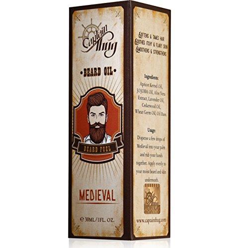 Captain Thug Beard and Mustaches Growth Oil