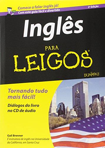 Megakit Inglês Para Leigos - Livros e CDs