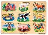 Melissa & Doug- Puzzle Sonoro in Legno, Multicolore, 268...