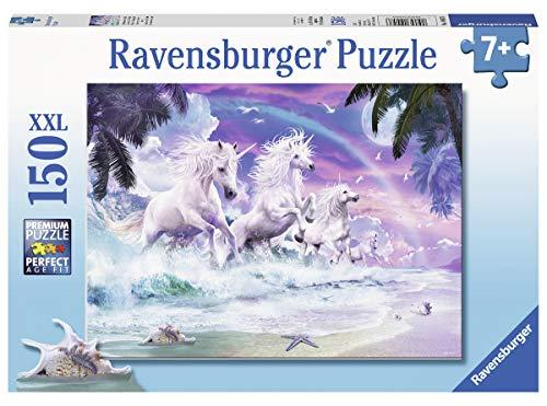 Ravensburger Kinderpuzzle 10057 - Einhörner am Strand - 150 Teile