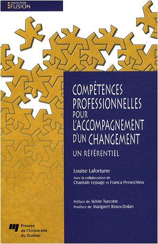 Compétences professionnelles pour l'accompagnement d'un changement : Un référentiel