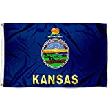 Sports Flags Pennants Company State of Kansas Flag 3x5 Foot Banner