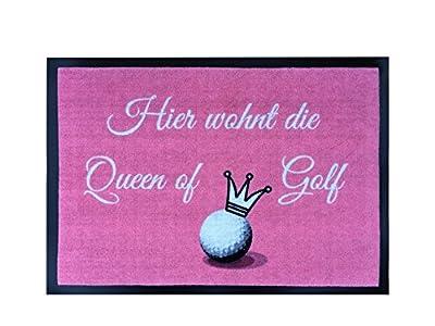 Golf Fußmatte Queen of