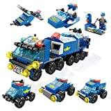 Toy building blocks, disassembled toy military vehicle tank and missile car combination toys, DIY 3D assembly educational learning toys for boys and girls, the best educational set gifts