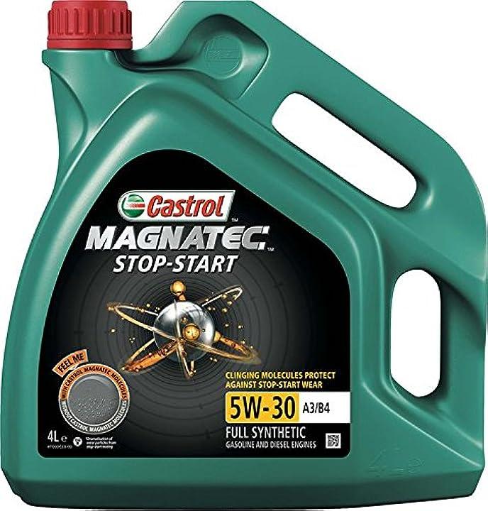 Olio motore castrol magnatec stop-start 5w-30 a3/b4 l lubrificante auto 159C12