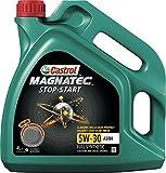 Castrol olio Magnatec stop-start 5w-30 A3/B4 l Lubrificante auto...
