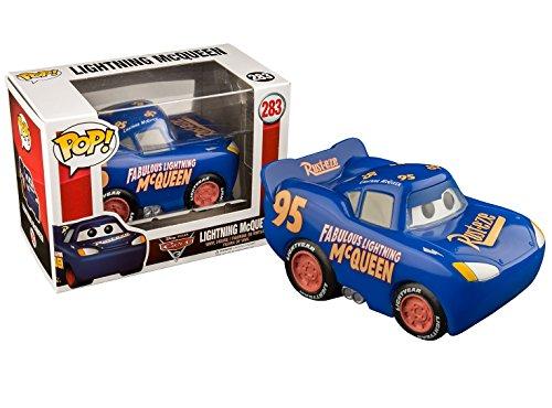 Funko - Disney Cars 3-Lightning Mcqueen (Blue Fabulous) - Figura Decorativa, Multicolor, 14234