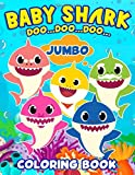 Baby Shark Doo...Doo...Doo...Jumbo Coloring Book: Great Gift For Kids Ages 4-8