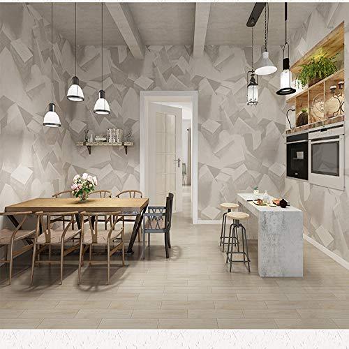 Life Artist Muurstickers voor elke keuken winkel kapper behang stereo geometrisch realistisch behang 0.53x10m 7