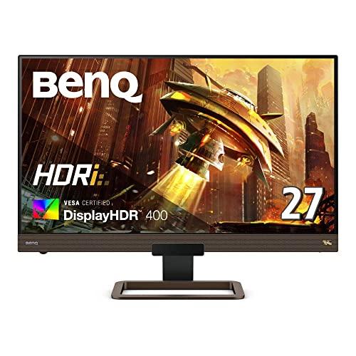 BenQ IPSパネル搭載高画質ゲーミングモニター EX2780Q(27インチ/IPS/DisplayHDR400/WQHD/144Hz/リモコン/2....