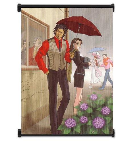 Ace Attorney Phoenix Wright Video Game Fabric Wall Scroll Poster (16' x 22') Inches