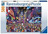 Ravensburger New Years in Times Square 500 Piece Jigsaw Puzzle for Adults - Every Piece is Unique, Softclick Technology Means Pieces Fit Together Perfectly
