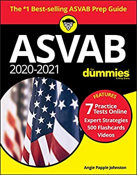 2020-2021 ASVAB for Dummies  Book + 7 Practice Tests Online + Flashcards + Video