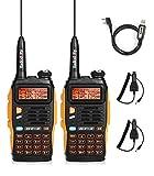 Baofeng GT-3 Mark II Ricetrasmittenti VHF&UHF 2 m/70 cm Dual Band Walkie Talkie (GT-3 Mark II (5W))