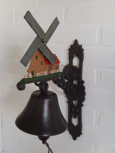 Luxe Puur UG gietijzeren decoratie molen klok huisingang bel huis windmolen