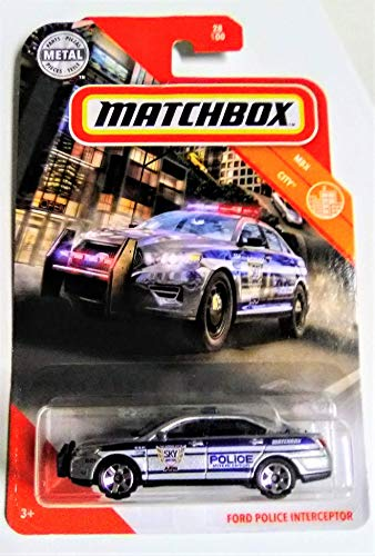 Matchbox Ford Police Interceptor 1:64