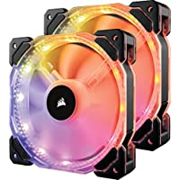 Corsair HD140 LED High Performance PWM Fan with Controller (Dual Pack )