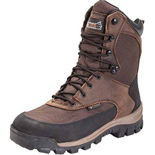 Rocky Women's FQ0004753 Mid Calf Boot, Dark Brown, 8.5 Wide