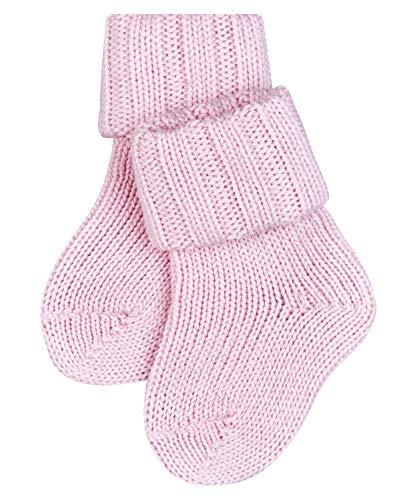FALKE Unisex Baby Flausch B SO Socken, Blickdicht, Rosa (Powder Rose 8900), 62-68