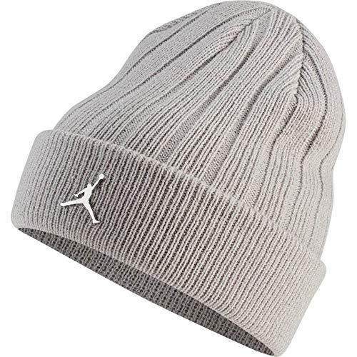Jordan Beanie Cuffed Ingot Beanie Mütze Unisex Erwachsene Atmosphere Grey/Metallic Silver, One Size