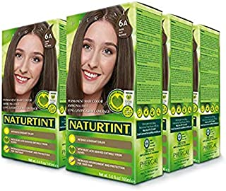 Naturtint Permanent Hair Color - 6A Dark Ash Blonde, 5.6 fl oz (6-pack)