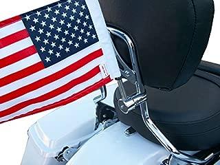 motorcycle sissy bar flag mount