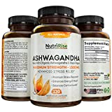 Ashwagandha 1300mg Made with Organic Ashwagandha Root Powder & Black Pepper Extract - 120 ...