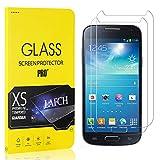 LAFCH Panzerglas Schutzfolie Kompatibel mit Galaxy S4 Mini, 2 Stück Ultra Klar Abdeckung Gehärtetem Glas Displayschutzfolie für Samsung Galaxy S4 Mini, Anti-Kratzer, Blasenfreie