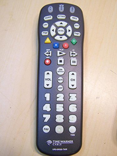 Clikr-5 Time Warner Cable Remote Control Ur3-sr3s (Big Button for the People with Bad Eyesight)