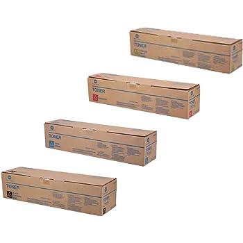 Refill Laser Copier Color Toner Powder Kits for Konica Minolta C3750 C 3730 3750 4750EN 4750DN 3700 3730DN EPSON 3900 Laser Printer 40g//Bottle,1 Black,1 Cyan,1 Magenta,1 Yellow