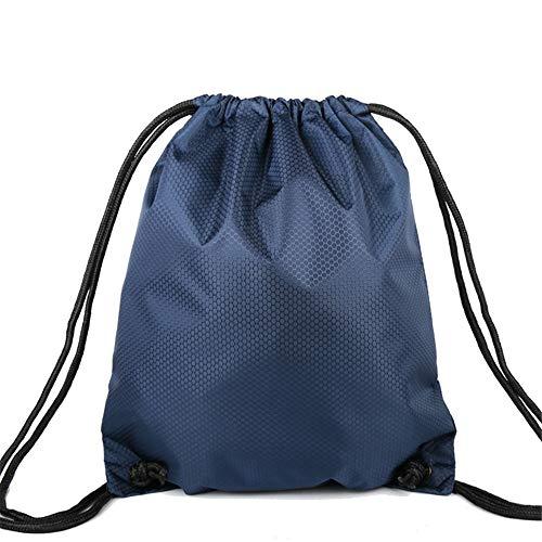 Bolsa de Transporte de Fútbol 1 bola baloncesto bolsa de cintura bolsa de baloncesto cordón mochila backing bolsa de almacenamiento Para Baloncesto Fútbol Voleibol ( Color : Blue2 , Size : 1 ball )