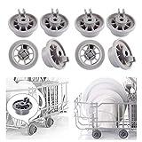 Roulettes pour Lave-vaisselle Bosch Roulette de Paniers Inférieur Lave Vaisselle pour Neff Siemens...