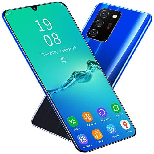 4G携帯電話ロック解除Android10スマートフォン、デュアルSIM10GB RAM 256GB ROM 128GB拡張6.5インチ水滴型ノッチ、グローバルバージョン