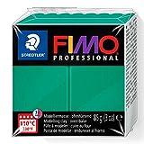 Fimo-8004-500 ST Pasta de modelar, Color verde (Staedtler 8004-500)
