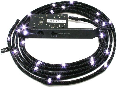 NZXT CB-LED20-WT LED-Kabel Kit, 200 cm, Weiß
