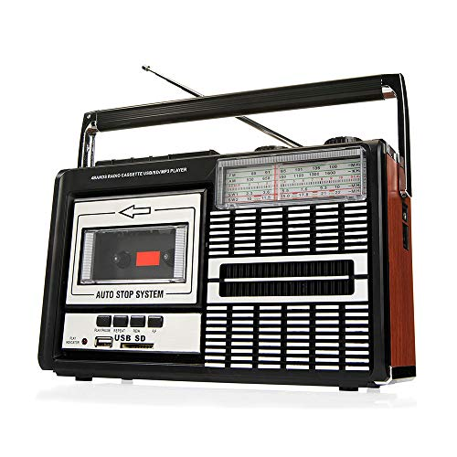 Ricatech PR85 - Back to the 80s - Reproductor y grabador de casetes |