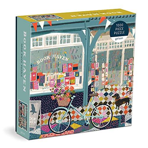 Book Haven: 1000 Piece Puzzle