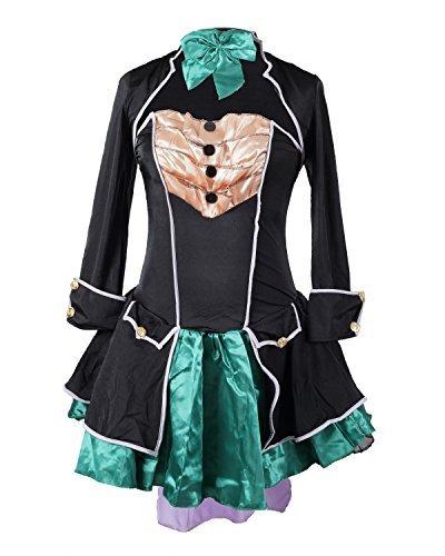 Costume da Cappellaio Matto, firmato Emma's Wardrobe – Include Vestito senza maniche, Giacca, Cappello e Papillon – Costume del Paese delle Meraviglie, per Halloween – Alta qualità – Taglie EUR 46