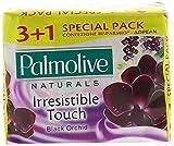 Palmolive, Seife, 3 + 1 Stück, schwarze Orchidee