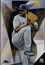 2015 Topps Finest Baseball Card #87 CC Sabathia