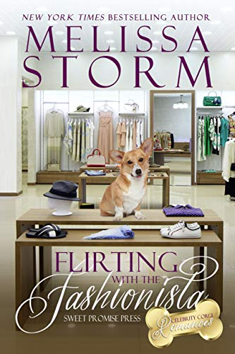 Flirting with the Fashionista: A Sweet BBW Opposites-Attract Romance (The Celebrity Corgi Romances Book 1)