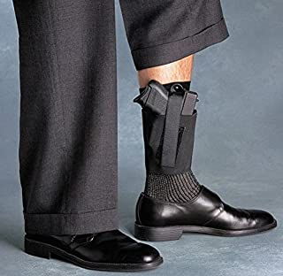 Cop Ankle Band Galco CAB2L Medium Autos and Small Frame Revolvers, Right Draw