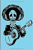 Dia de los muertos skull: Day of The Dead Skull Journal  | Sugar Skull Notebook | Día de los Muertos  2020 Regalo - Libro de Memoria con diseño de ... men adults kids holidays Gifts | 6x9 Inches