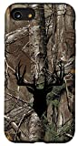 iPhone SE (2020) / 7 / 8 Deer Hunting Black Brown Tree Camo Camouflage Case