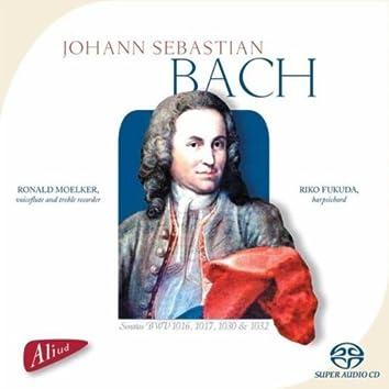 Johann Sebastian Bach, Sonatas BWV 1016, 1017, 1030 & 1032