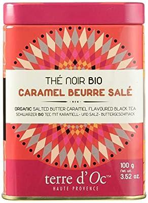 Terre d'Oc Thé Gourmand Noir Caramel Beurre Salé Bio