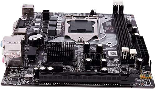 MUKUAI54 H81 LGA 1150 Socket de placa base LGA1150 Micro-ATX imagen de escritorio USB2.0 SATA2.0 de doble canal 32 GB DDR3 1600 para computadora Intel DIY