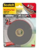 Scotch 40021950 - Cinta adhesiva de doble lado (19 mm x 5 m), color gris
